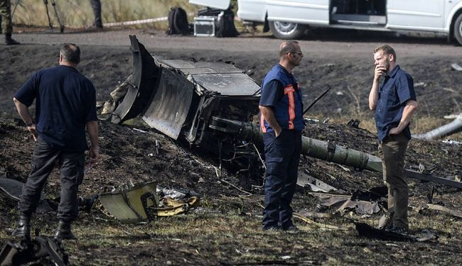 MH17 black boxes show crash caused by rocket: Kiev