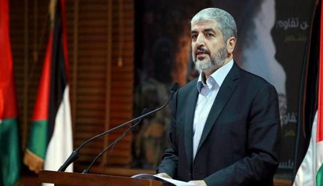 Meshaal demands end to Israeli occupation