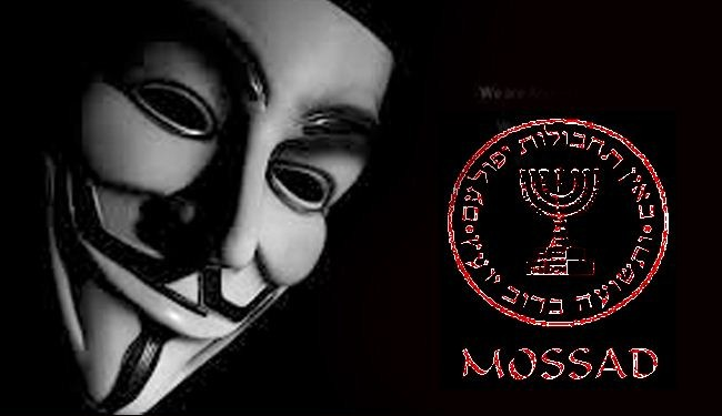 'Anonymous' downs Mossad website over Israel's Gaza terror campaign