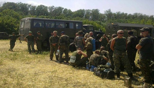 More than 400 Ukrainian troops cross into Russia to find sanctuary