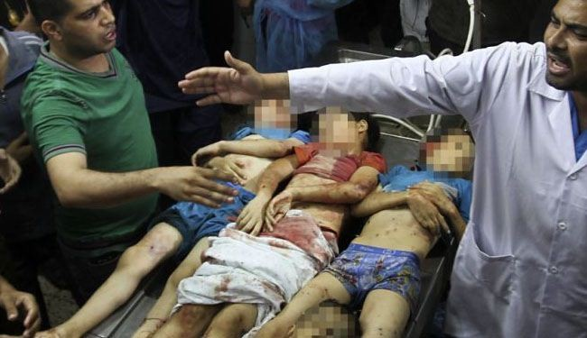 Nearly 430 kids killed in Israeli onslaught on Gaza