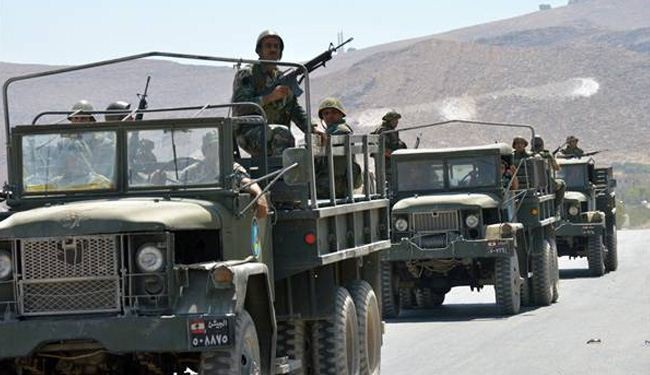 Hezbollah providing logistical support to Lebanese army in Arsal
