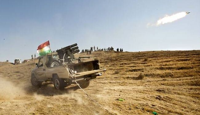 Kurdish fighters wage counteroffensive against ISIL in Iraq