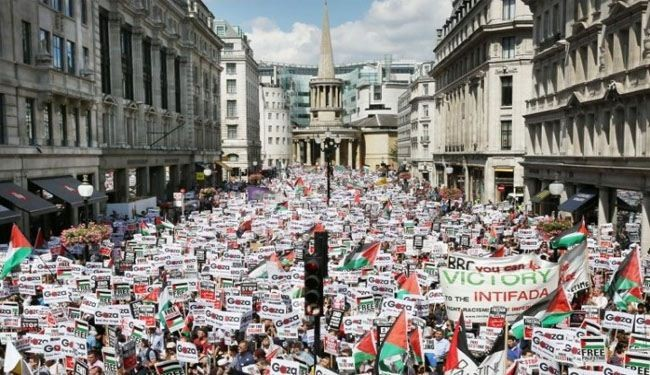 Massive pro-Palestinian rallies held in London, Paris, Cape Town