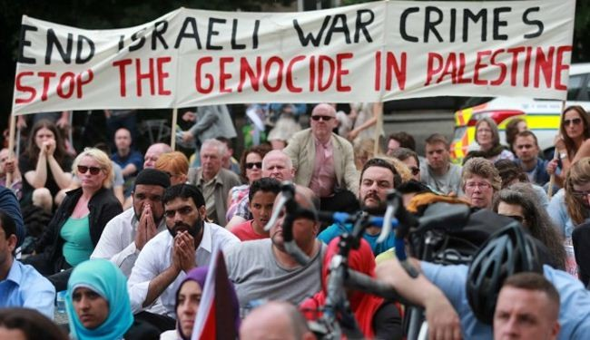 World nations hold rallies against Gaza onslaught