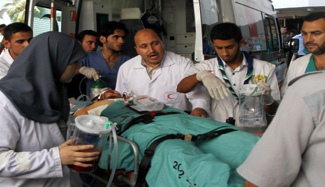 Gaza hospitals lack medicine to treat injured civilians