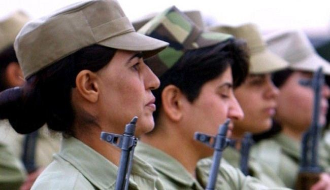 Iraqi women take up arms against ISIL terrorists