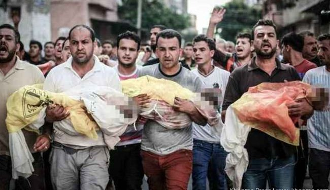 Gaza death toll tops 1980; more martyrs expected
