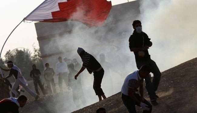 Bahrain forces use tear gas, rubber bullets against protesters
