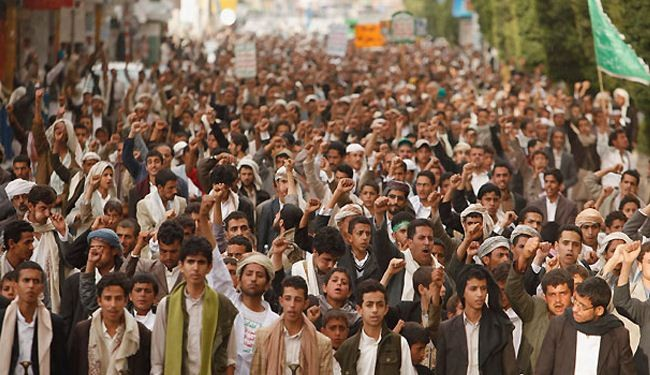 Houthis continue protest rallies despite gov't offer