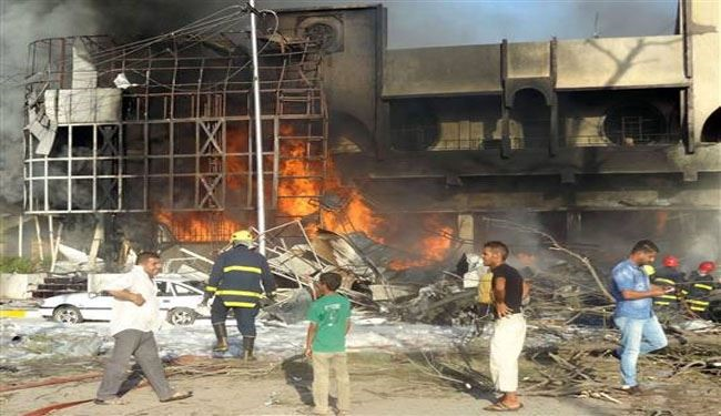 Suicide bomber attacks Shiite worshippers in Baghdad, kills 12