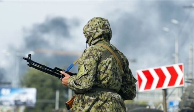 Pro-Russians withdraw heavy artillery from Ukraine frontline