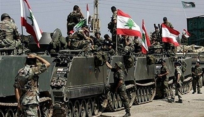Lebanon army pledges to defeat Takfiri militants