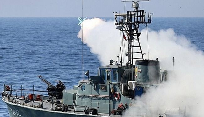 Iran successfully fired the country's home-made cruise missiles