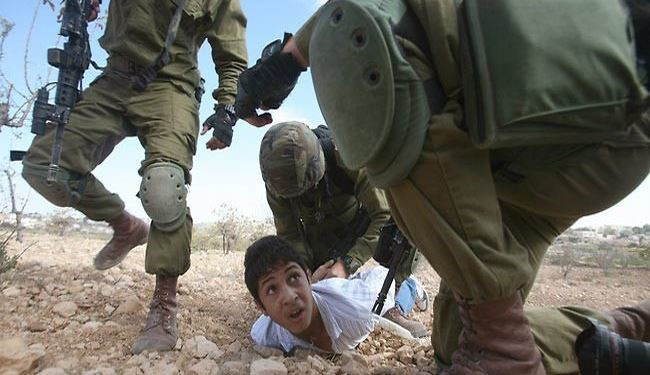 1,266 Palestinian Children Detained by Israeli Troops in 2014