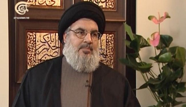 Nasrallah: Response to Zionist Raids Take Place Any Time