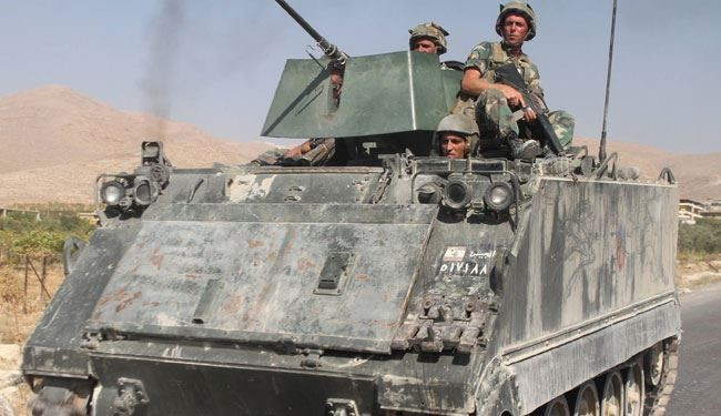 Terrorists on Syria Border Kill 5 Lebanese Troops