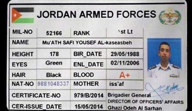 Who was Jordanian pilot Moath al-Kasasbeh?