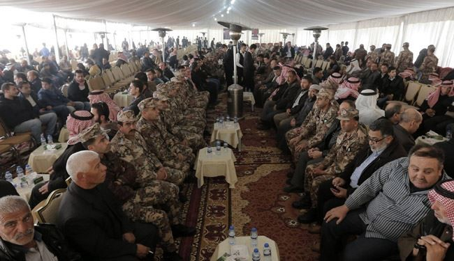 Jordan's King Meets senior military and security officials