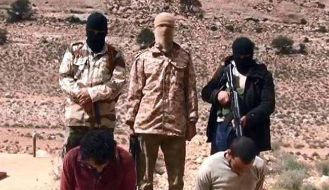 Libyan ISIS Video Shows Execution of 2 Soldiers