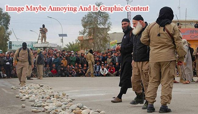 Images Shows ISIS Stoned to Death Couple for Unlawful Relation