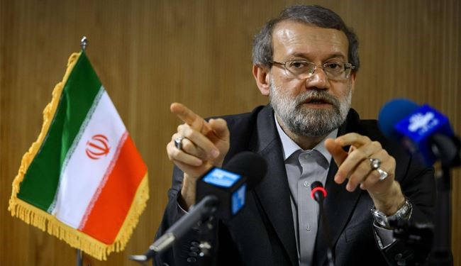 Larijani: Key to Syria Crisis Not in Terrorists' Hands