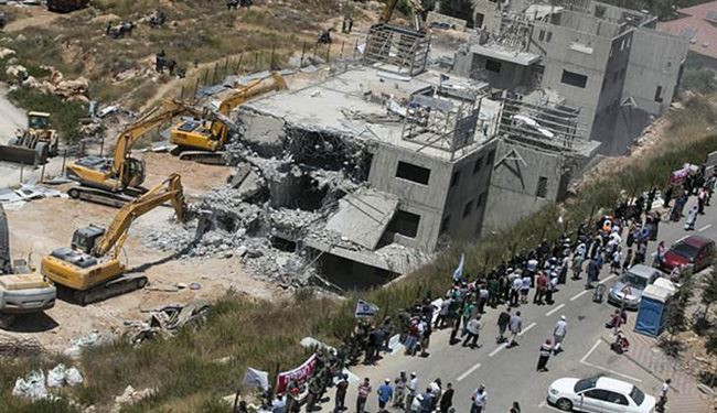 UN: 13,000 Palestinian Homes under Israel Demolition Orders