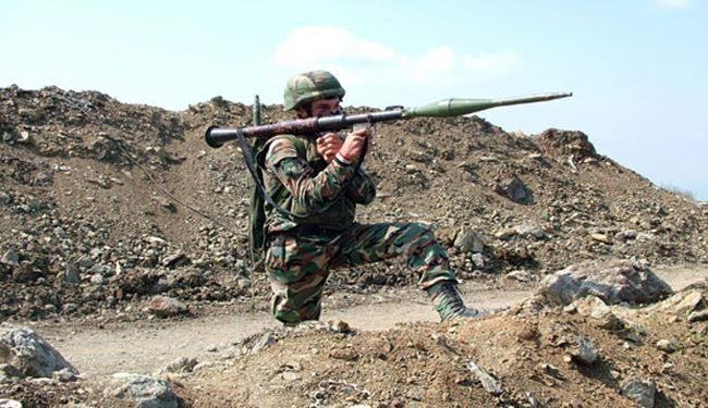Syrian Army Destroys Terrorists' Hideouts in Aleppo Countryside