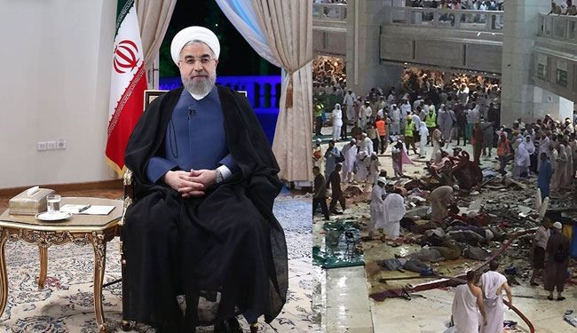 Islamic Ummah Saddened by Mecca Pilgrims' Death: Rouhani