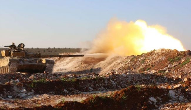 Syrian Troops Pound Takfiri Fighters Hard in Hama