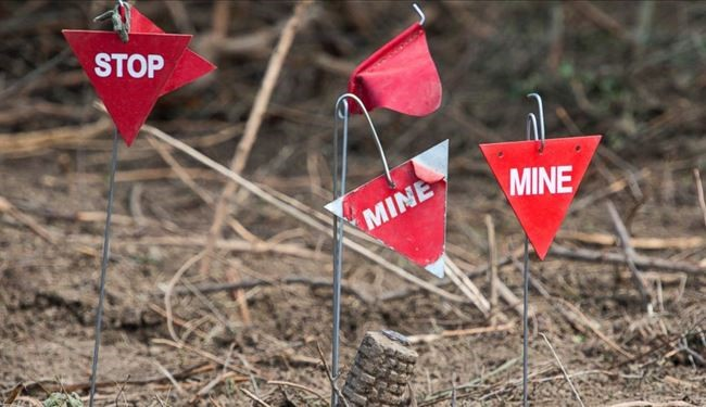 50,000 Landmines In Front of Hundreds of Migrants