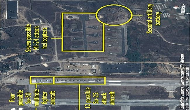 Satellite Images Show New Russian Military Build-Up in Syria