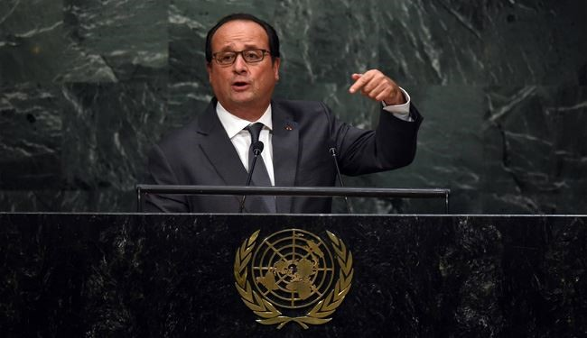 Hollande: Russia, Iran Should Be Part of Syria Solution