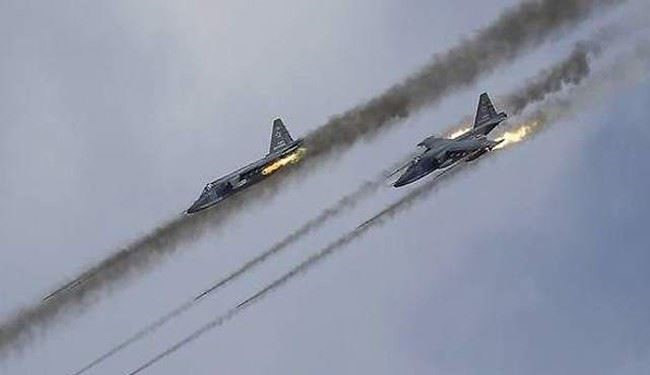 Russian Warplanes Bomb ISIL-Held City of Palmyra
