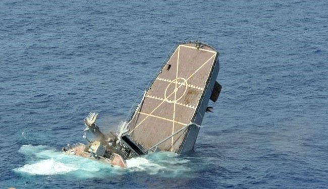 Yemeni Forces Drown Saudi Warship in Bab al-Mandab Strait