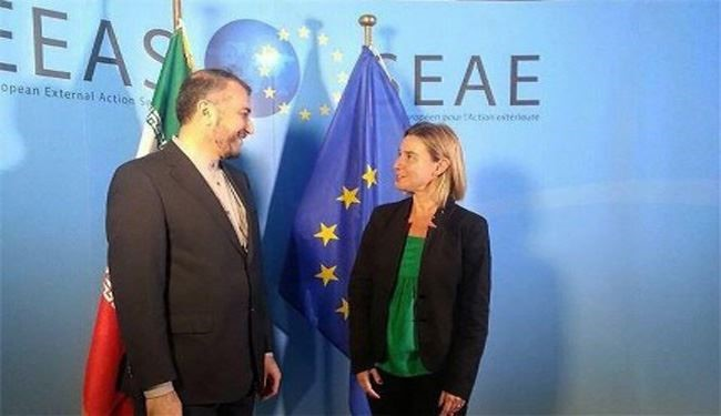 Iran's Deputy FM Meets European Union Chief in Brussels