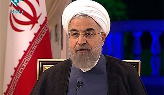 Rouhani Predicts Shining Growth After Removal of Sanctions