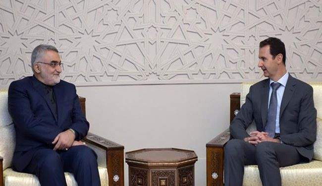 President Assad Hails Iran, Russia's Support for Syria