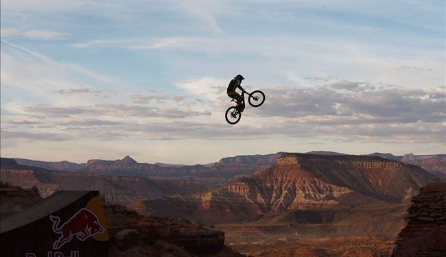 See Interesting Scene of Red Bull Rampage