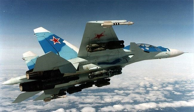 Russian Fighter Jets Intercept Israeli Fighters in Southern Syria