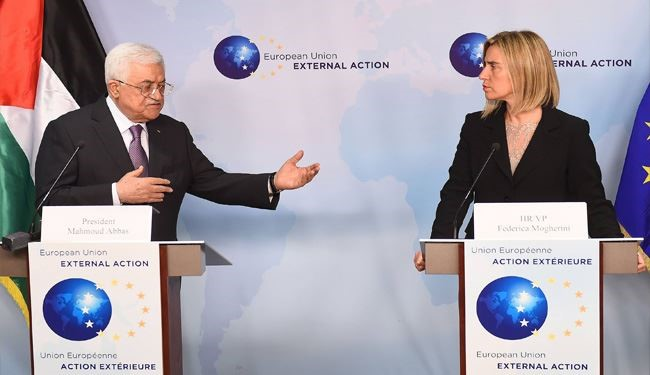 Mahmoud Abbas to EU: Palestine Situation Extremely Serious