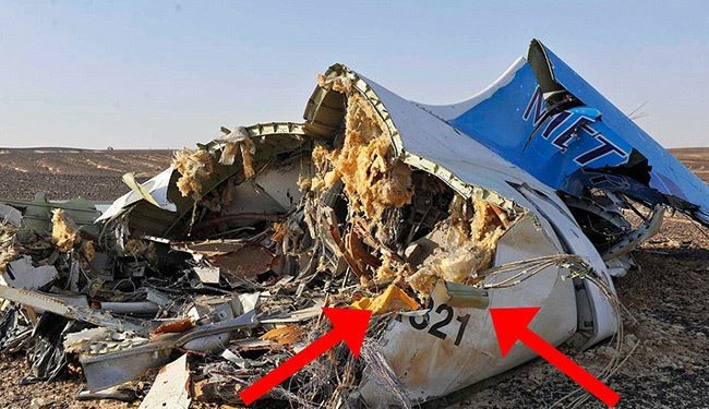 "Experts Believe ""Bomb"" Could have Responsible for Russian Plane Crash"