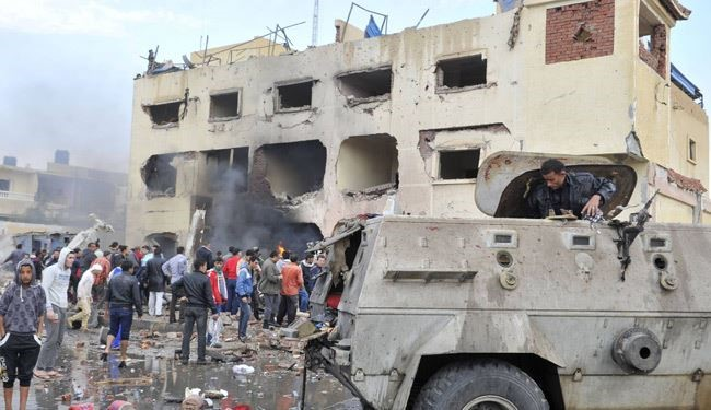 Deadly Car Bomb Targeted Police Kills 6 Egyptian People in Sinai