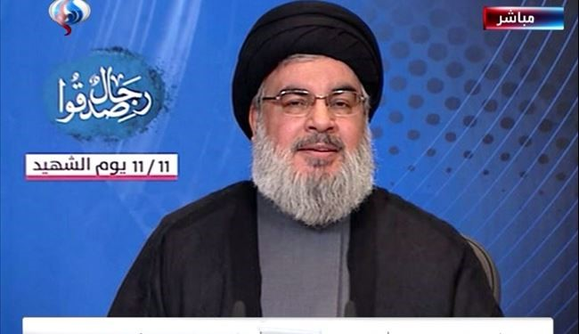 Resistance's Victories Achieved by Blessed Blood of Martyrs: Nasrallah
