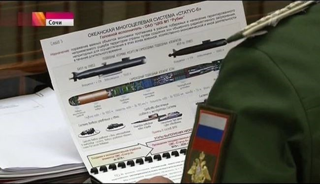 Kremlin Confirms Russian TV Accidently Leaked 'Nuclear Torpedo' Secrete Data