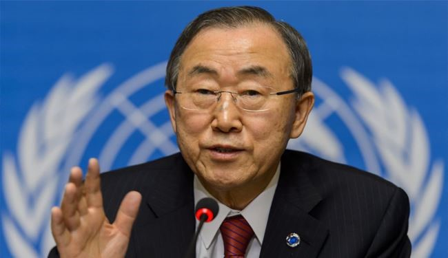 UN Chief Ban Ki-moon Slams Bomb Attacks in Lebanon