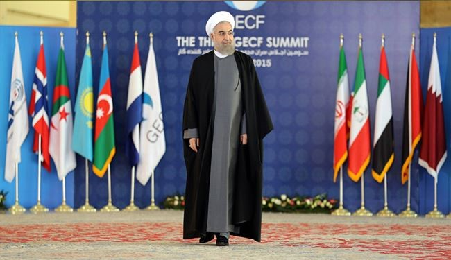 Rouhani, GECF to Promote Position of Gas in World Energy Markets