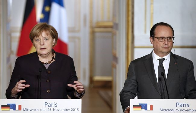 Germany Vows to Help France in Fighting against ISIS