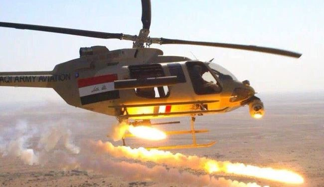 Iraqi Warplanes Raze 16 ISIS Tanks in Anbar