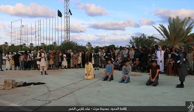 PICS: ISIS in Libya Executed Three People in Public for Alleged Accusations